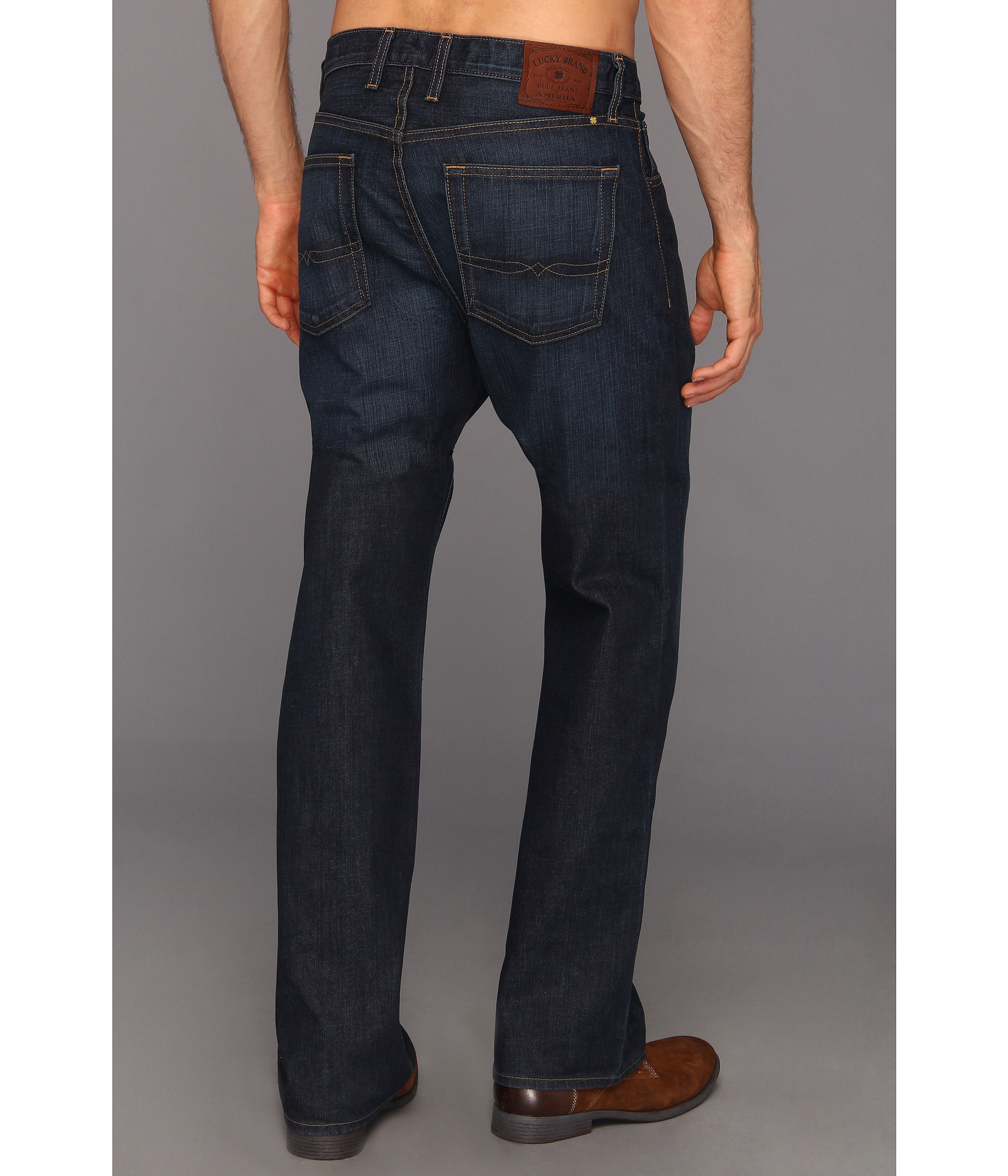 Lucky Brand 181 Relaxed Straight 34 in Old Carriage Old Carriage