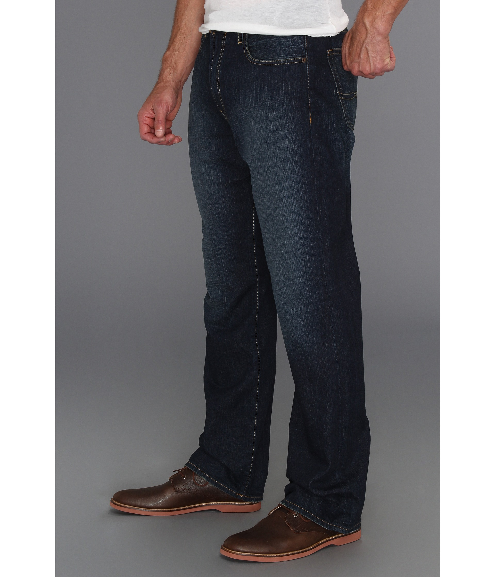 Lucky Brand 181 Relaxed Straight 32 in Old Carriage