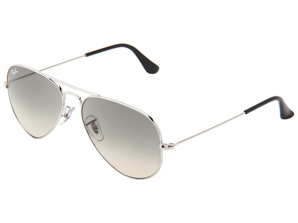 Ray-Ban - RB3025 Original Aviator 55mm (Silver/Grey Gradient) Metal Frame Fashion Sunglasses