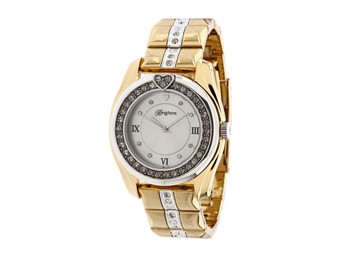 Brighton Dana Point Watch - Silver/Gold
