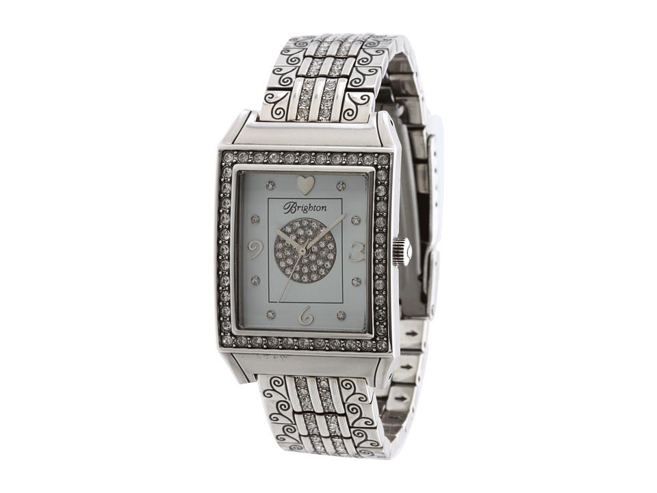 Brighton - Diamond Bar Watch (Silver/Stone) Analog Watches