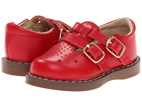 FootMates Danielle 3 (Infant/Toddler/Little Kid) - Apple Red