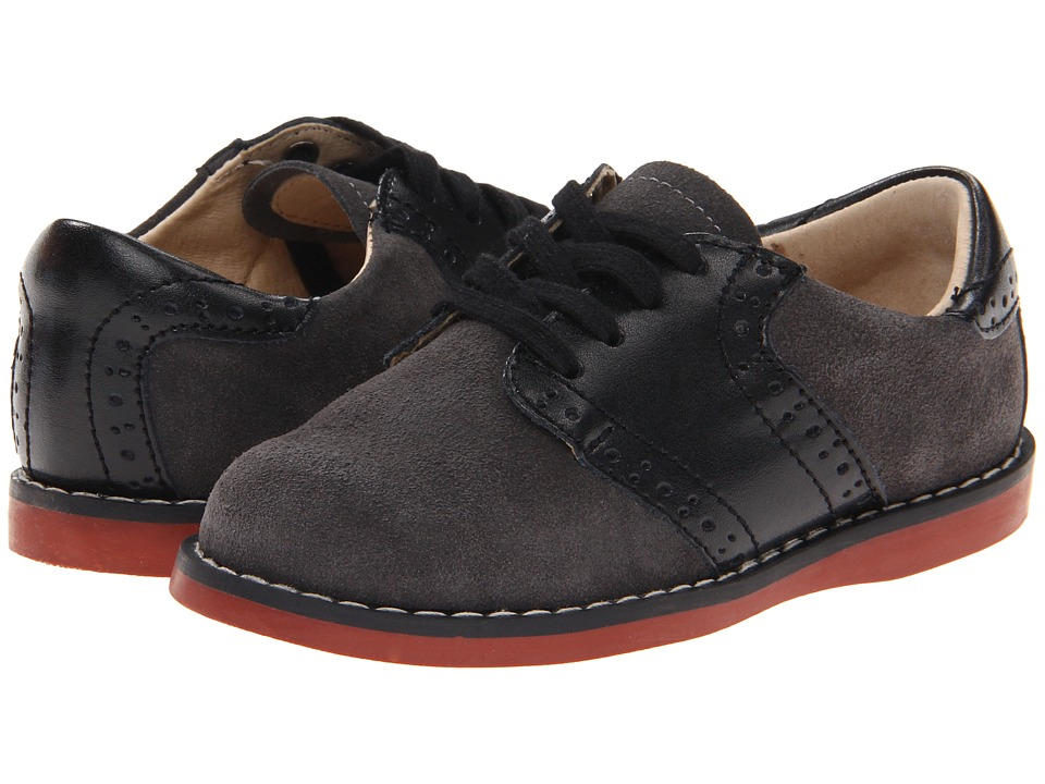 FootMates Connor 2 Toddler/Little Kid Gray/Black Boys Shoes