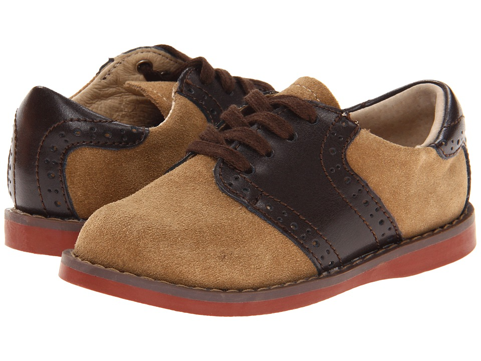 FootMates Connor 2 Toddler/Little Kid Dirty Buck/Brown Boys Shoes