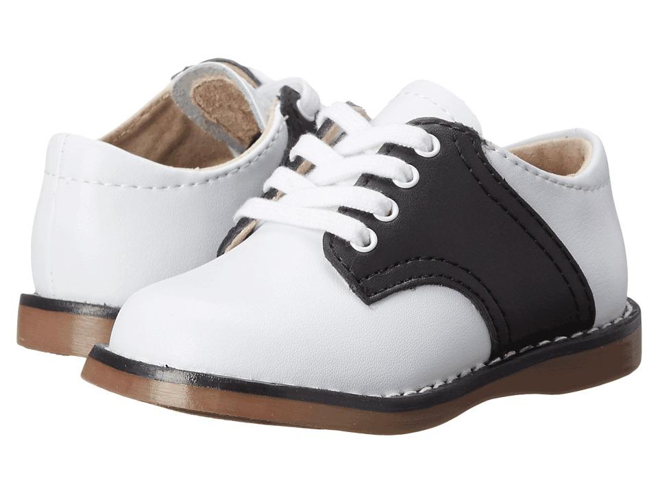 FootMates Cheer 3 Infant/Toddler/Little Kid White/Black Kids Shoes