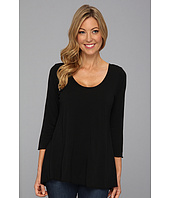Miraclebody Jeans - Bella Hi-Lo Tunic w/ Body-Shaping Inner Shell