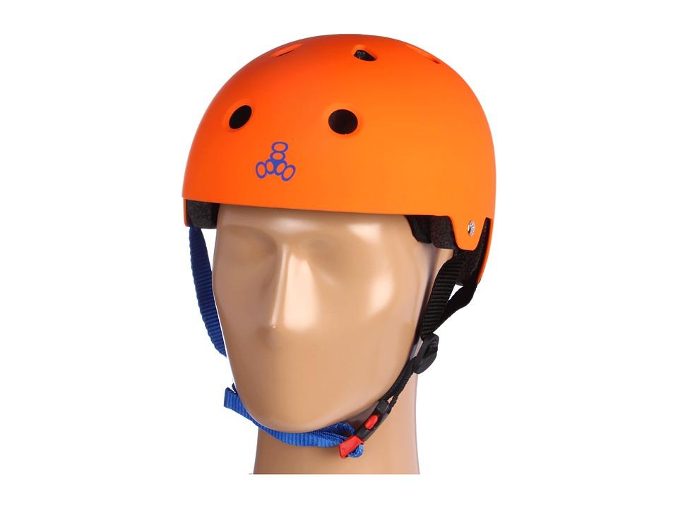 Image of Triple Eight Certified Helmet Switzer (Orange) Helmet