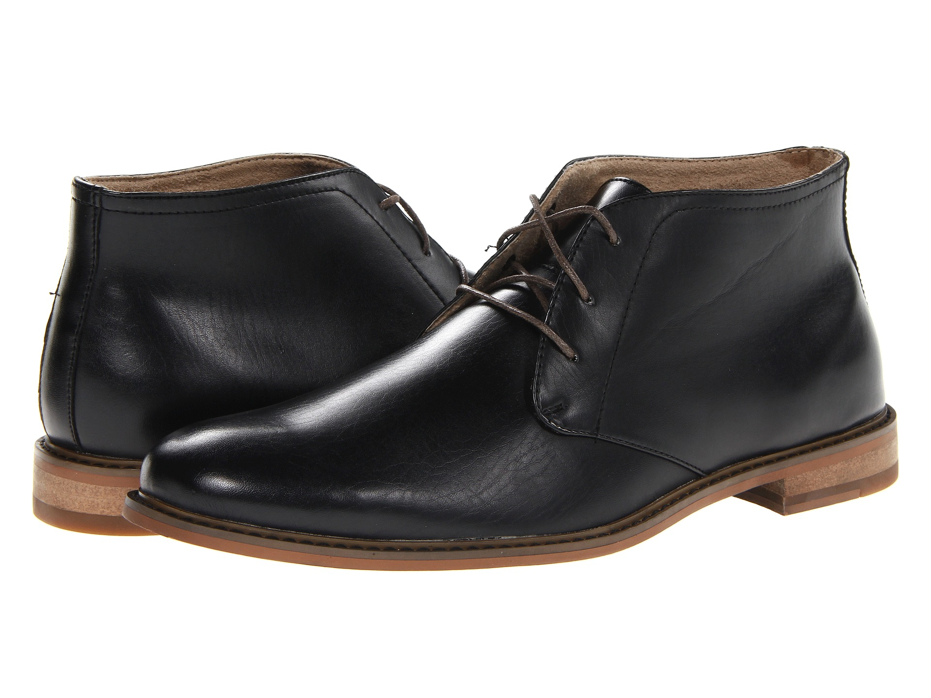 Deer Stags Seattle Black Leather 2