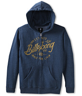 Billabong Kids - Blue Collar Zip Hoodie (Big Kids)