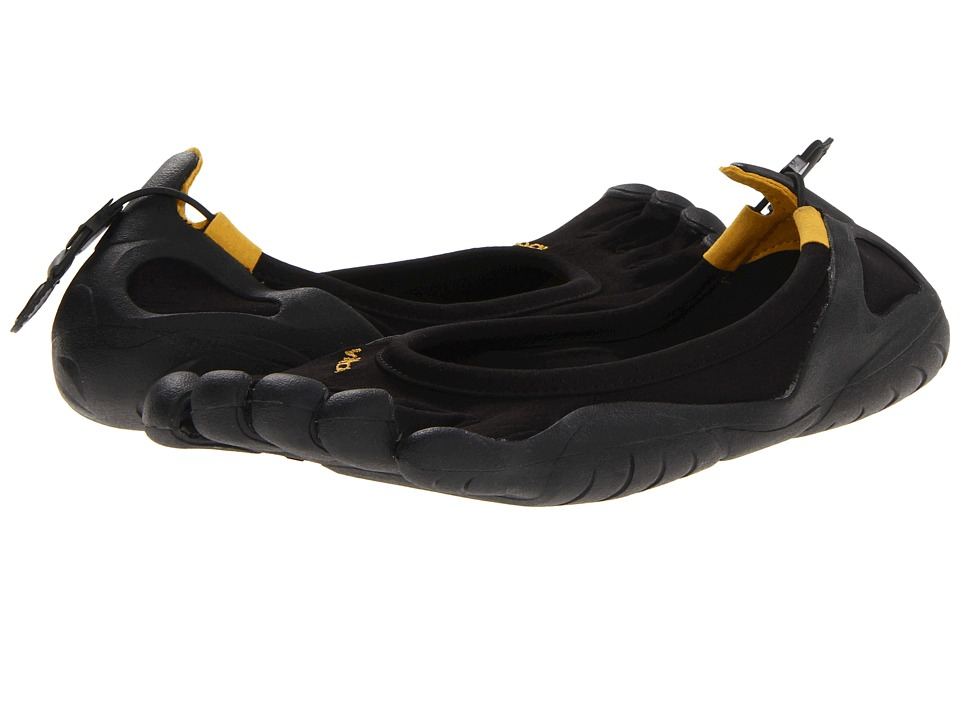 Vibram FiveFingers Classic Black/Black Womens Lace up casual Shoes