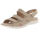 ECCO - Babette Sandal 3-Strap (Sand Fuego Nubuck) -
