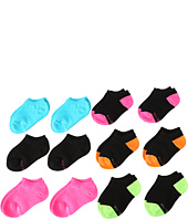 Stride Rite - Mia 12pk Fun Brite Comfort Seam No Show (Infant/Toddler/Little Kid/Big Kid)