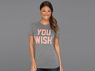 adidas - You Wish Tee (Dark Grey Heather)