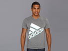 adidas - Yolo Logo Tee (Dark Grey Heather)