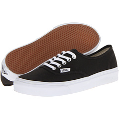 Authentic Slim (Black/True White) Skate Shoes