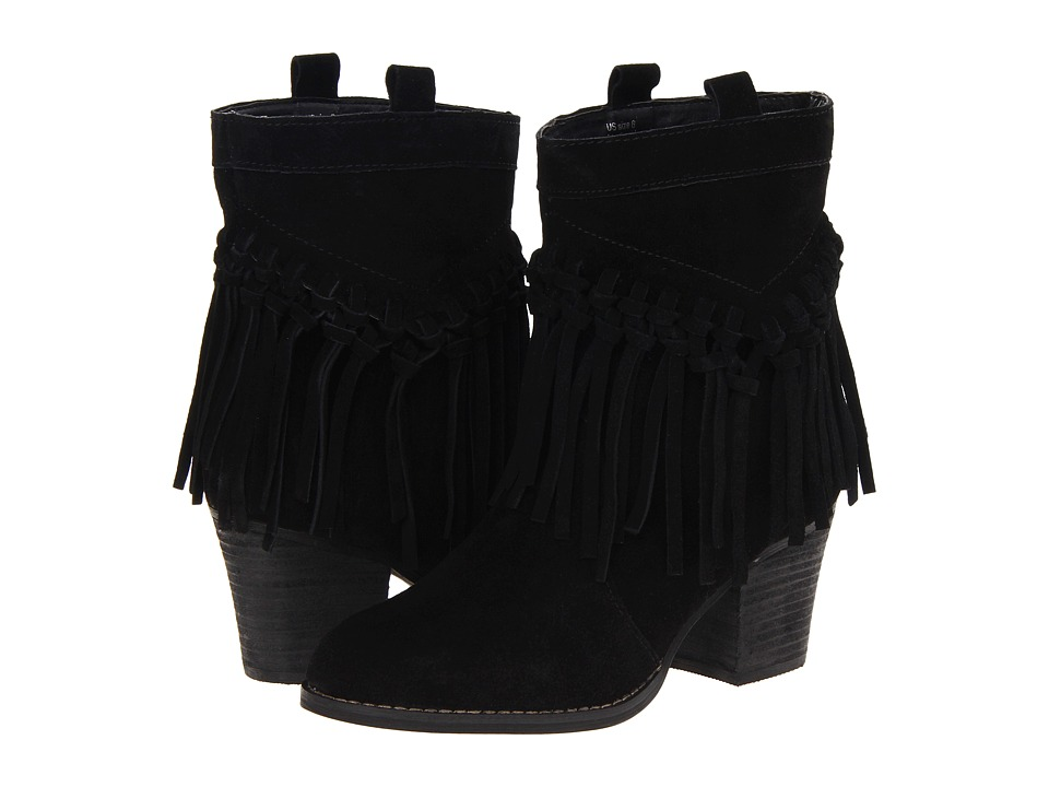 Sbicca Sound Black Womens Pull on Boots