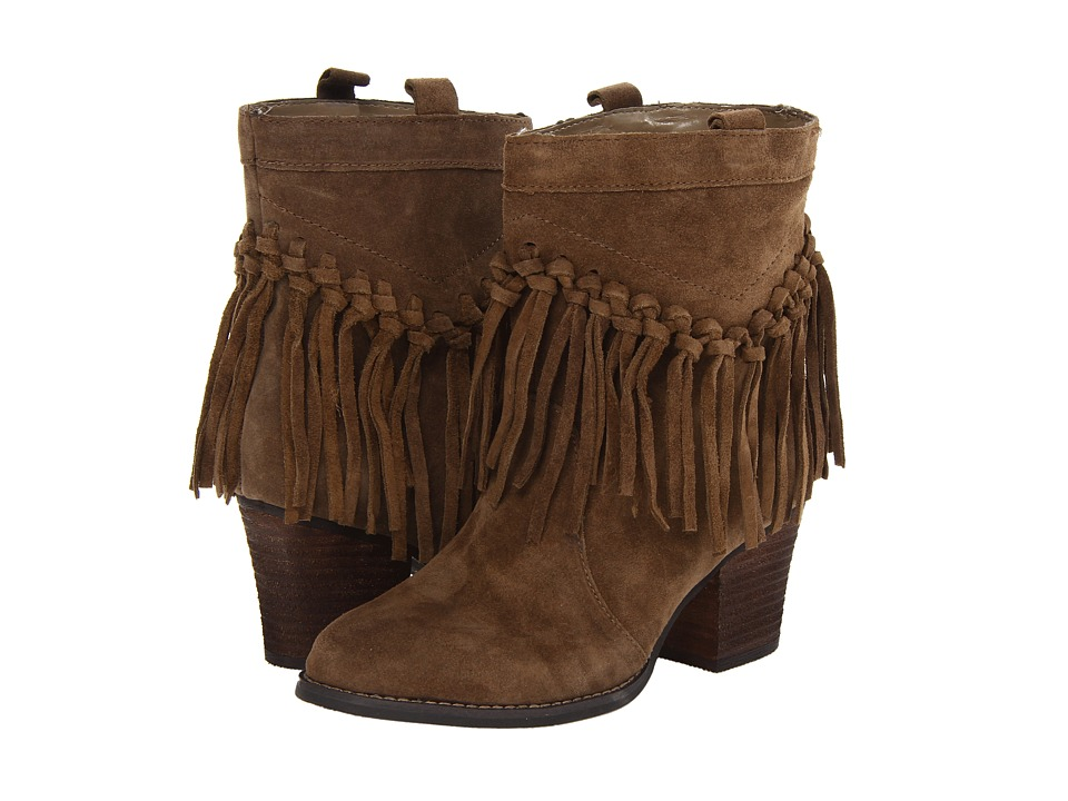 Sbicca Sound Khaki Womens Pull on Boots
