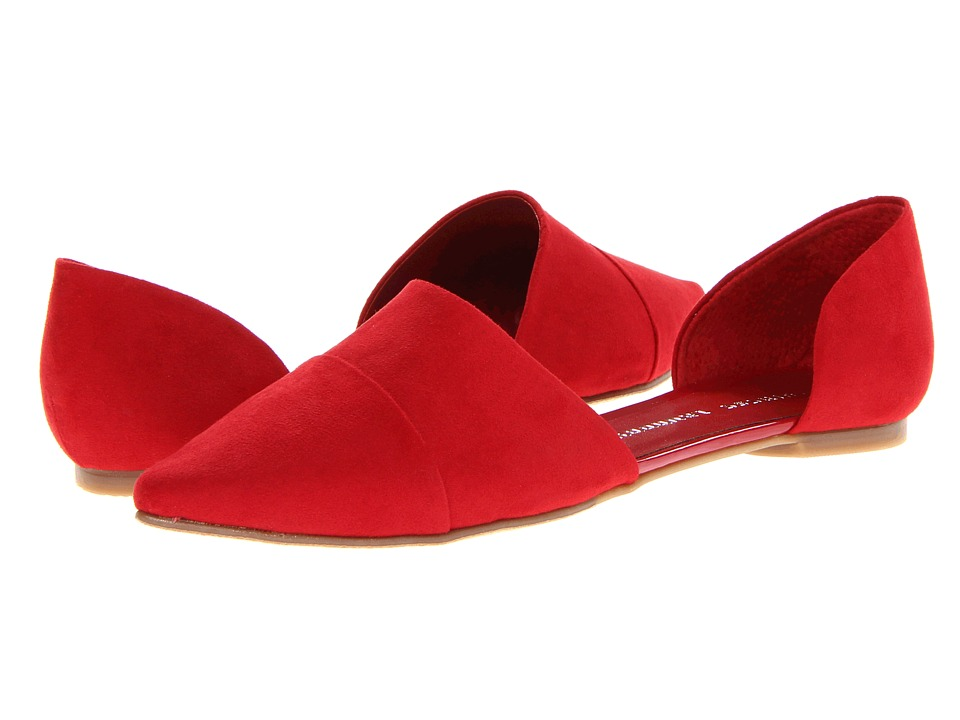 Chinese Laundry Easy Does It (Red Suede) Women