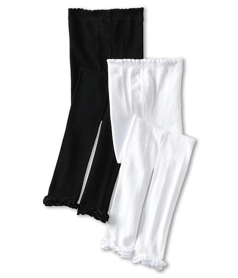 Jefferies Socks Pima Cotton Ruffle Footless Tights 2-Pack (Infant/Toddler/Little Kid/Big Kid)