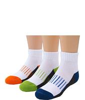 Jefferies Socks - Performance Quarter 3-Pack (Toddler/Little Kids/Big Kids)