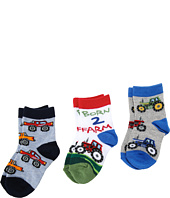 Jefferies Socks - Born 2 Farm Triple Treat (Infant/Toddler/Little Kids)