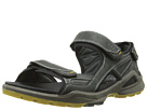 ECCO Sport - Biom Chiappo Terrain Sandal (Black/Black Yak Atelope/Textile) -