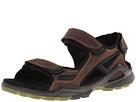 ECCO Sport - Biom Chiappo Terrain Sandal (Coffee/Black Yak Antelope/Textile) -