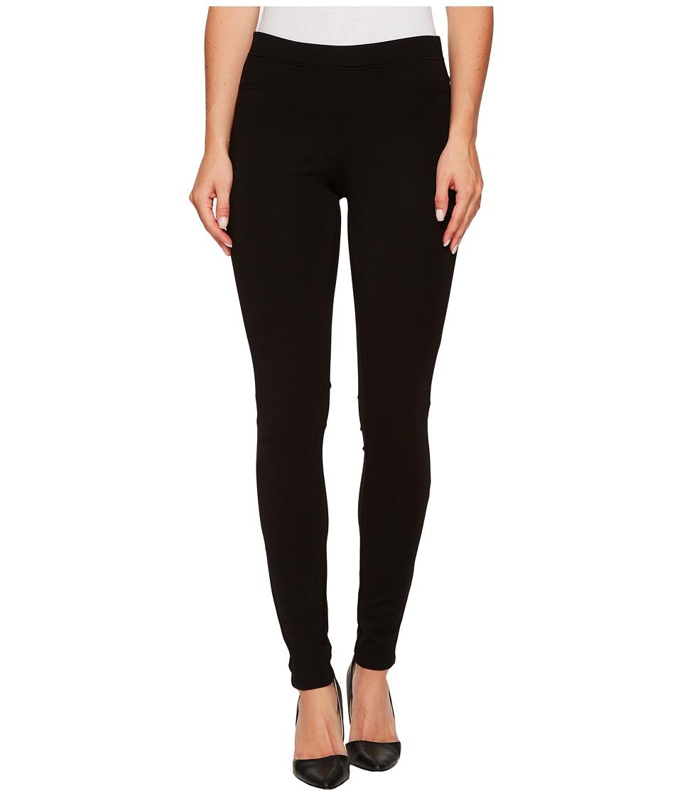 HUE Ponte Double-Knit Leggings (Black) Women