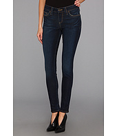 True Religion - Halle Mid-Rise Super Skinny in Blue Crow