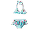 Seafolly Kids Kitchen Tea 70's Halter Bikini