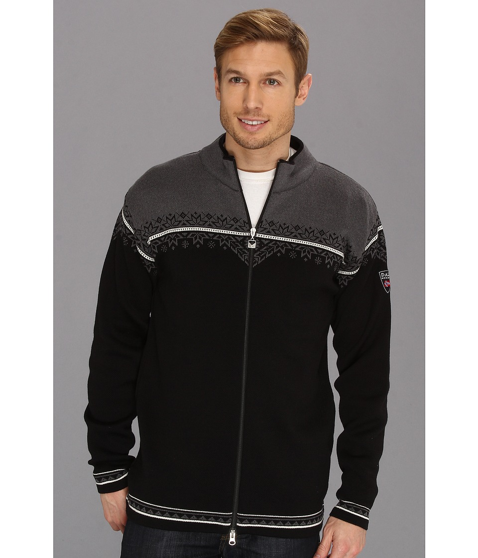 Dale of Norway Nordlys Masculine J Black/Off White/Schiefer Mens Sweater