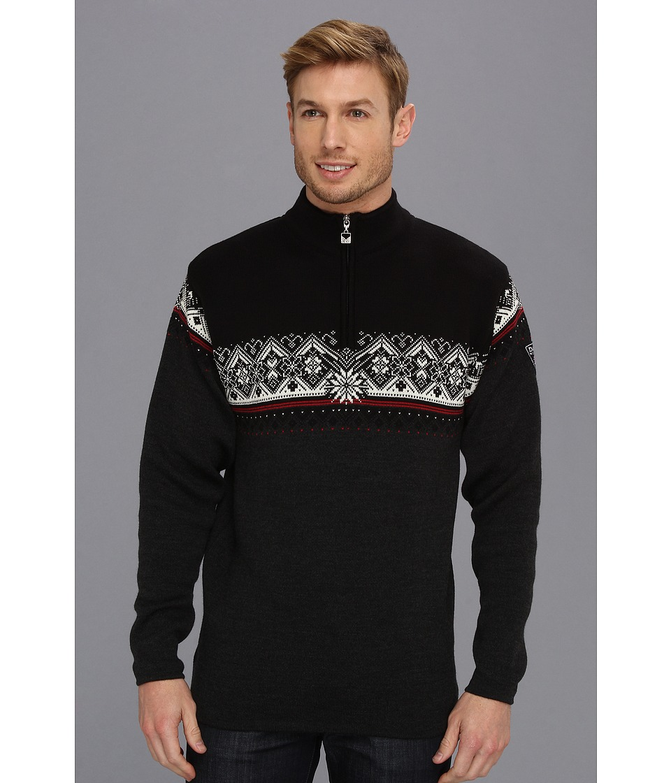 Dale of Norway - St. Moritz Masculine (E-Teer Vig/Raspberry/Black/Off White) Mens Sweater