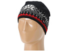 Dale of Norway Dale 125th Anniversary Hat (F-Black/Red Rose/Off White)
