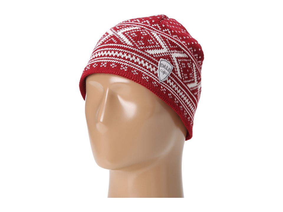 Dale of Norway - Vintage Hat (B-Red Rose/Off White) Knit Hats plus size,  plus size fashion plus size appare