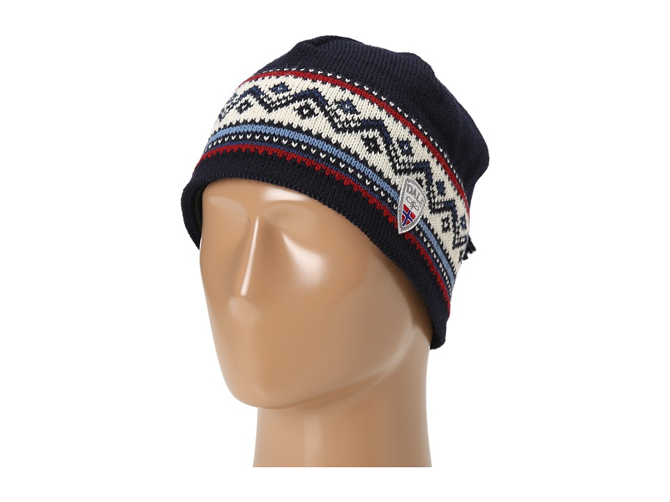 Dale of Norway - Vail Hat (C-Navy/Red Rose/Off White/Indigo) Knit Hats