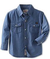 Lucky Brand Kids - Boys' Malibu Long Sleeve Chambray Shirt (Toddler)