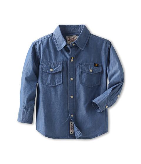 Lucky brand kids malibu long sleeve chambray shirt toddler for Chambray shirt for kids
