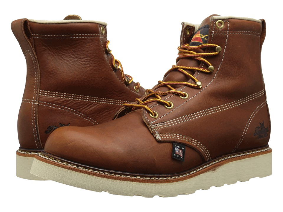 Thorogood 6 Soft Toe Tobacco Mens Work Boots