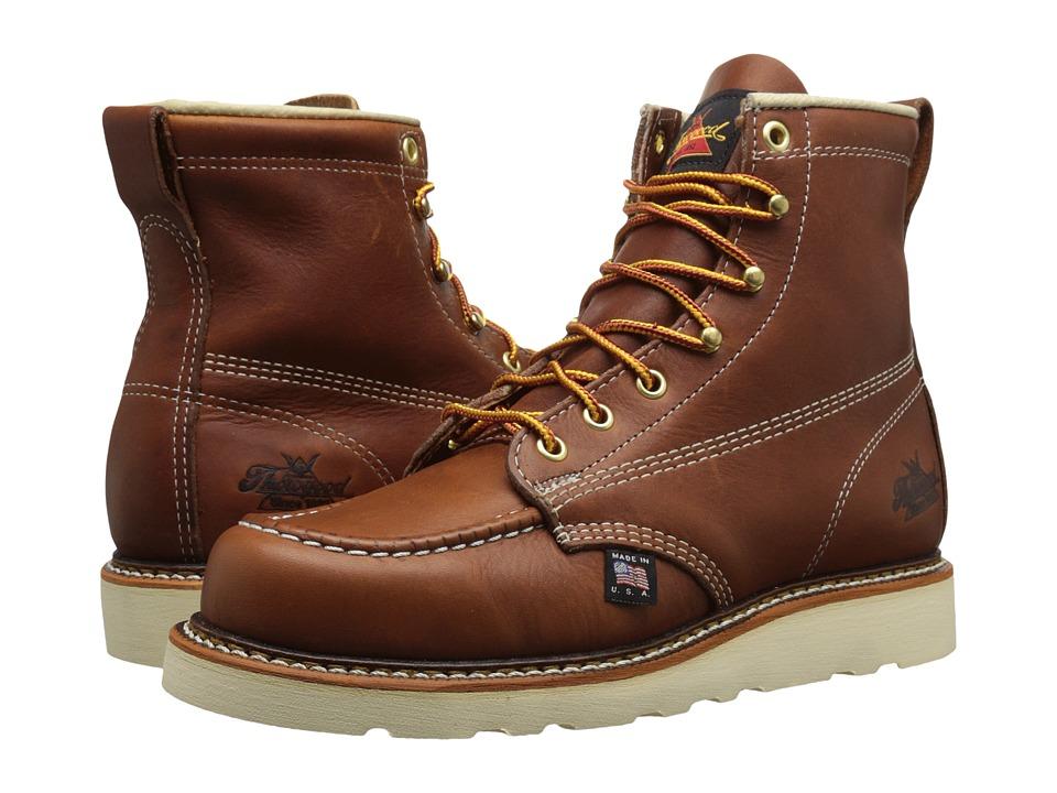 Thorogood 6 Soft Moc Toe Tobacco Mens Work Boots