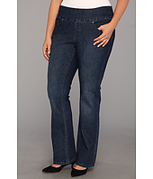 Jag Jeans Plus Size - Plus Size Brandy Pull-On Boot in Anchor Blue