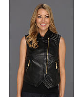 Vince Camuto - Pleather Moto Jacket