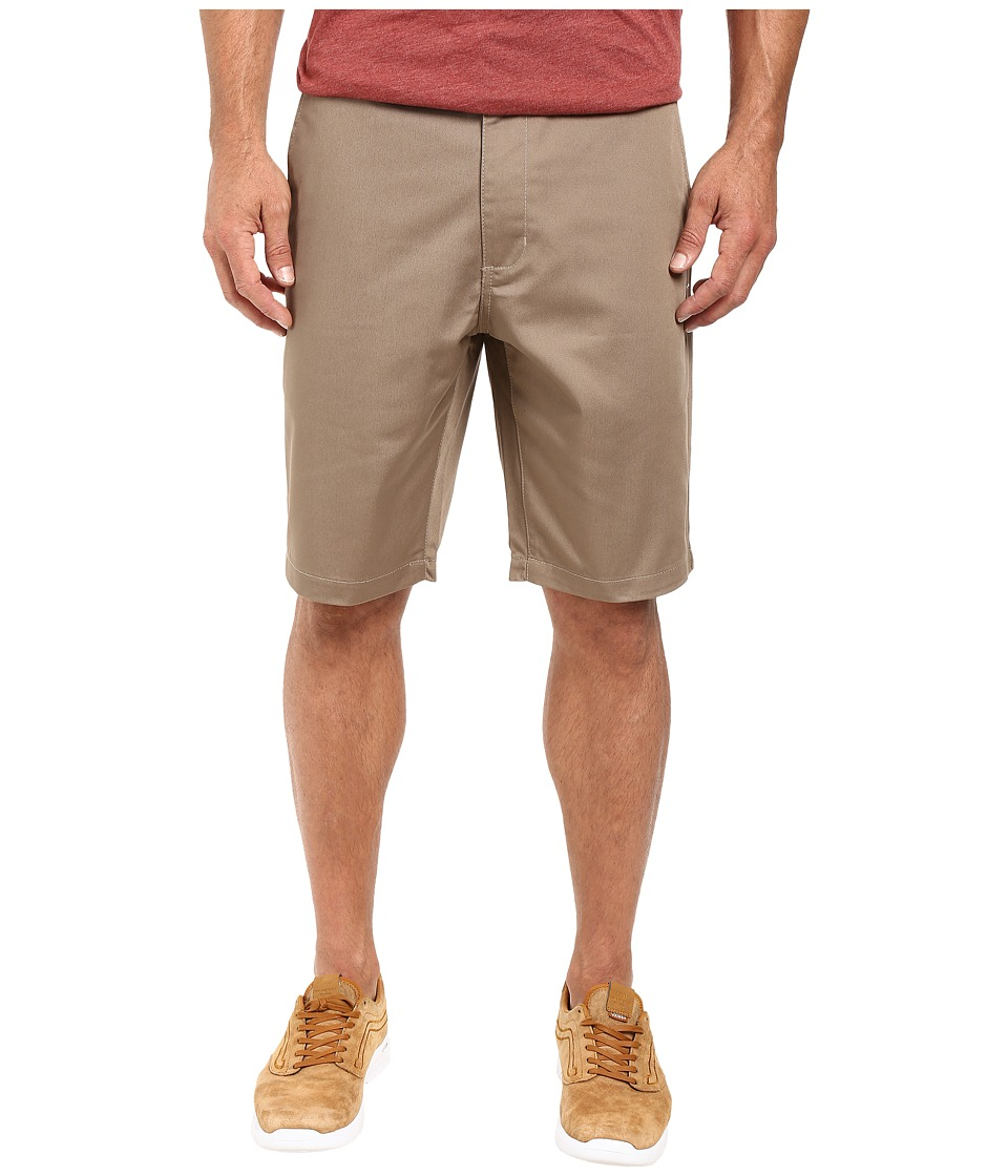 RVCA - The Week-End Short (Dark Khaki) Mens Shorts