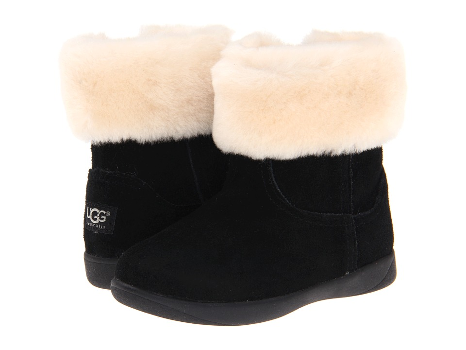 Ugg Kids - Jorie II (Toddler/Little Kid) (Black) Girls Shoes