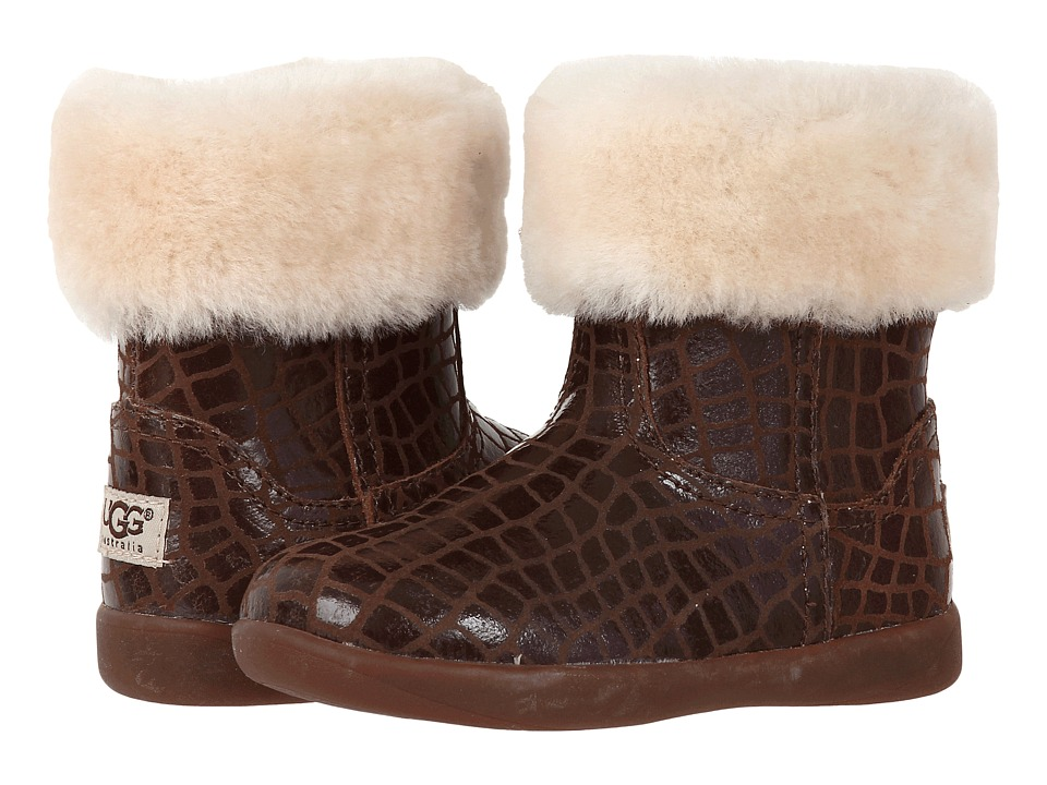 UGG Kids Jorie Croc Toddler Chocolate Girls Shoes