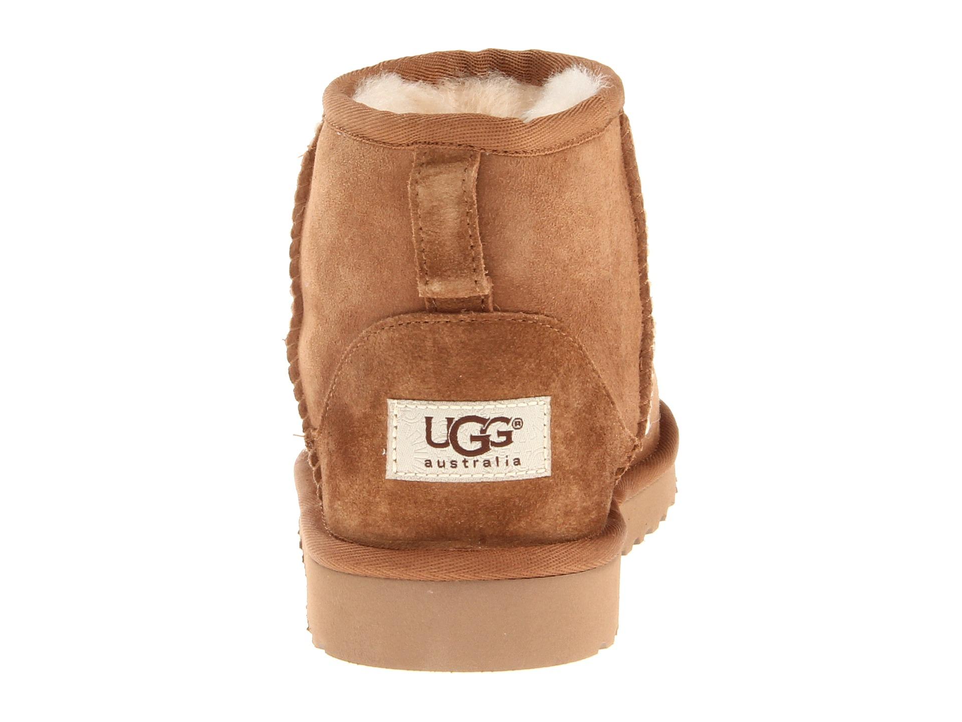 ugg classic mini size 4