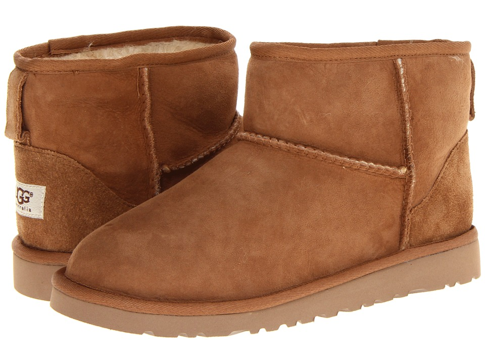 UGG Kids Classic Mini Big Kid Chestnut Girls Shoes