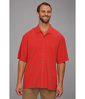 Tommy Bahama Big & Tall - Big & Tall Sand Crest Stripe Camp Shirt