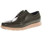 Cole Haan - Lunargrand Long Wingtip (Fatigue/Taupe) - Footwear