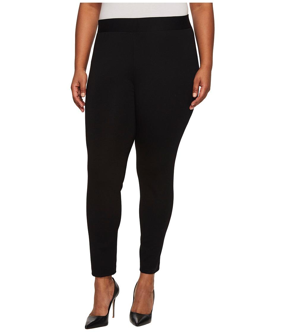 Vince Camuto Specialty Size - Plus Size Classic Legging (Rich Black) Women's Casual Pants plus size,  plus size fashion plus size appare