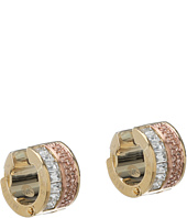 Michael Kors Collection - Pave and Baguette Huggie Earring
